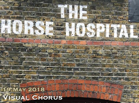 Visual Chorus at London's Horse Hospital